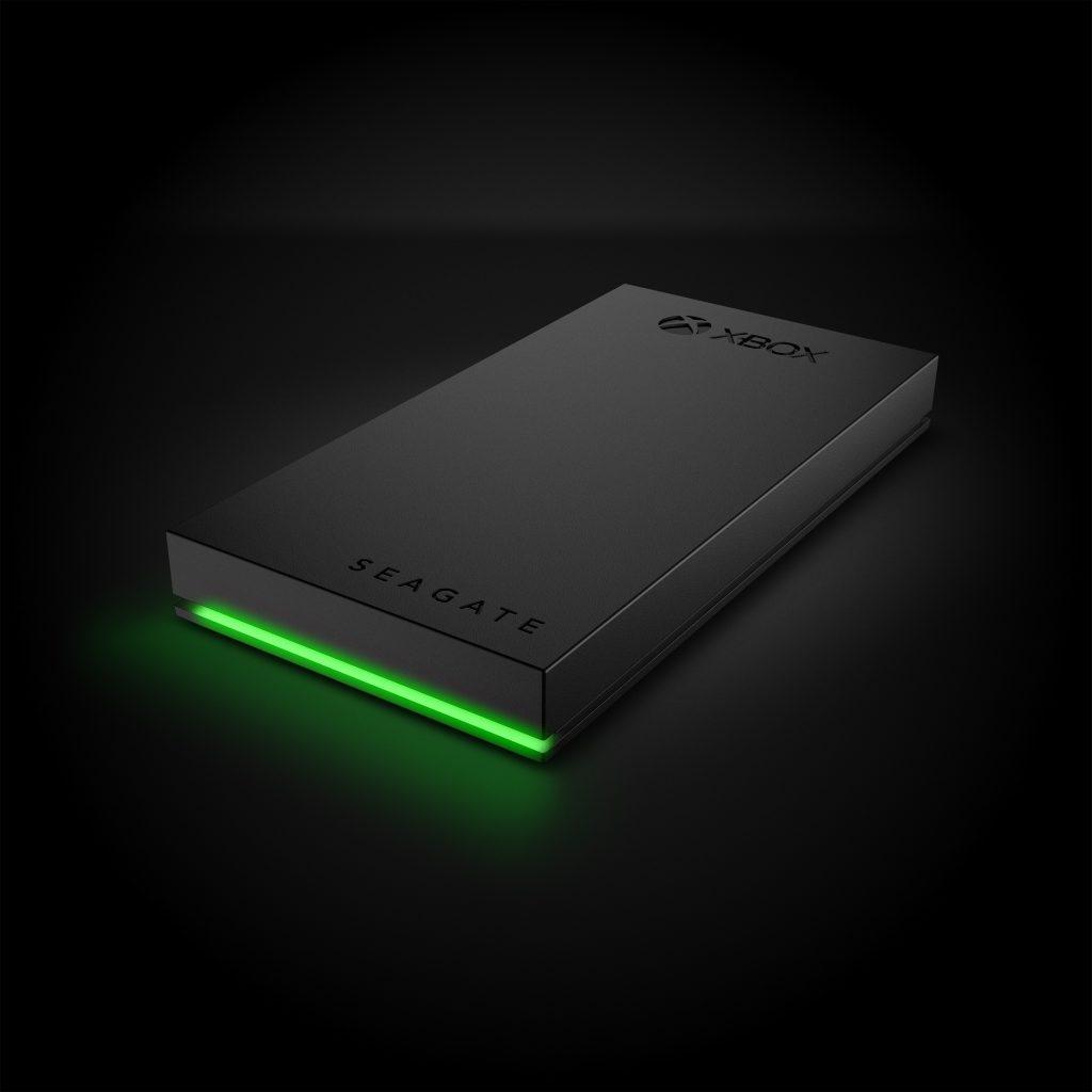 Il design del Seagate SSD Game Drive for Xbox