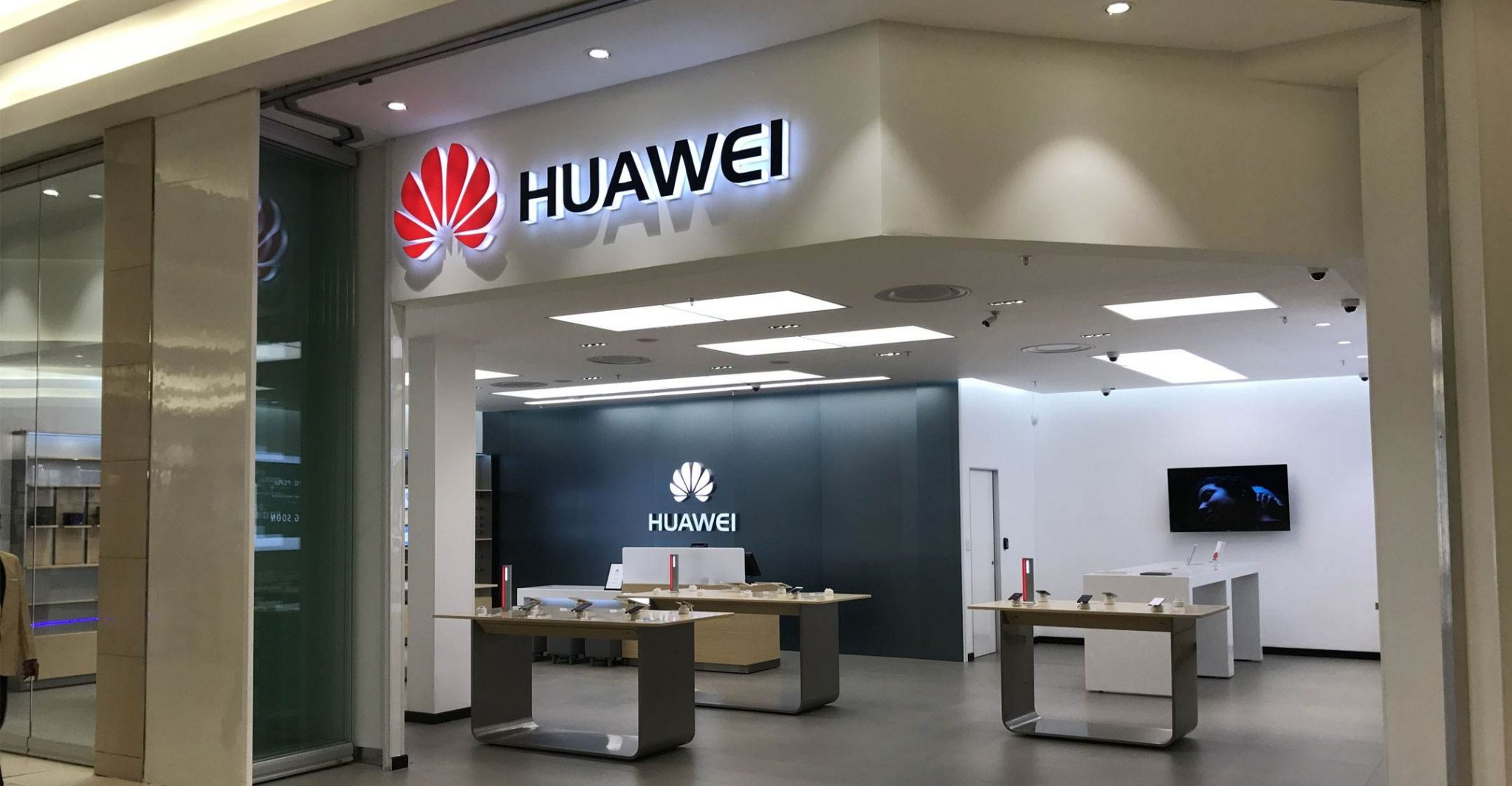 Uno store fisico Huawei